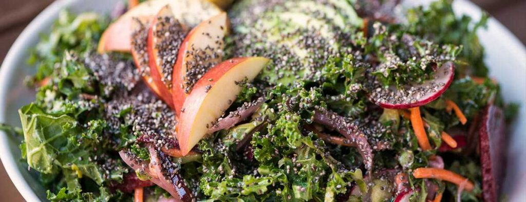 Superfood boerenkool-salade recept