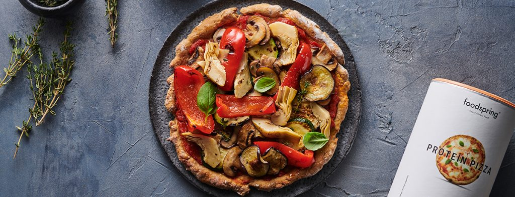 Vegan Protein Pizza